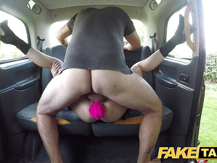 Female Fake Taxi Blonde Driver